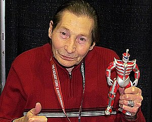 Robert Axelrod (actor) - Axelrod at the Calgary Comic and Entertainment Expo in 2012