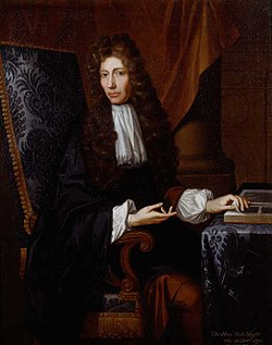Robert Boyle, one of the co-founders of modern chemistry through his use of proper experimentation, which further separated chemistry from alchemy