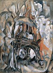 Tour Eiffel aux arbres