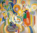 Robert Delaunay - Portuguese Woman - 1916 - Thyssen-Bornemisza Museum.jpg