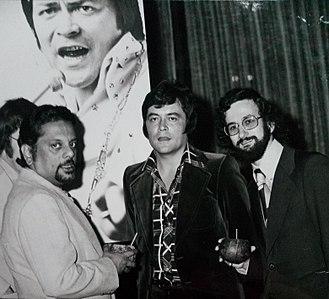 Jack Jersey - Roel Kruize, Bhaskar Menon, Jack Jersey and Theo Roos, 1974
