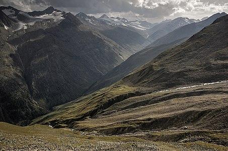 Rofental Valley, Tyrol, Austria