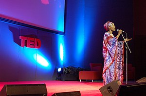 Rokia Traoré - Traoré singing at TED in 2007.