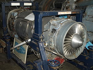 Rolls-Royce Turbomeca Limited - An Adour on display at the Brooklands Museum