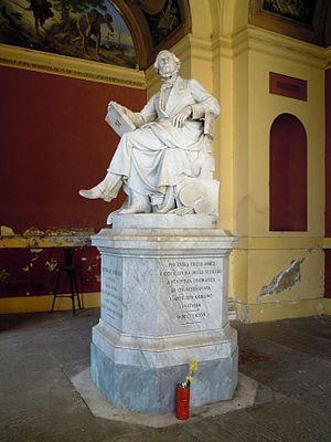Tommaso Minardi - Rome: monument to Minardi in Campo Verano