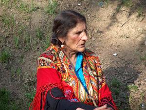 A Polish Romani woman