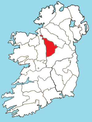Roman Catholic Diocese of Ardagh and Clonmacnoise - Image: Roman Catholic Diocese of Ardagh map