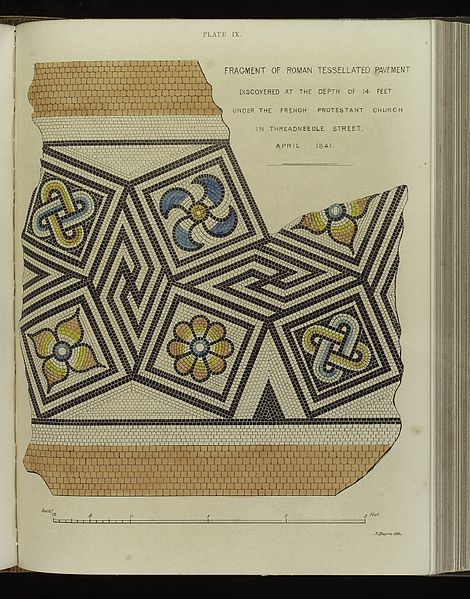 roman mosaic - image 2