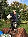 Ronald with his Telescope.jpg