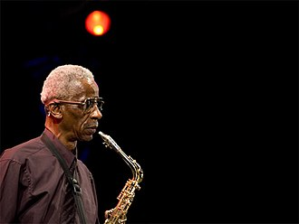 Roscoe Mitchell - Mitchell at the Pomigliano Jazz Festival, July 15, 2005