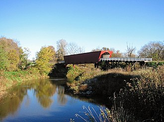 The Bridges of Madison County (film) - Roseman Bridge in Winterset, Iowa.