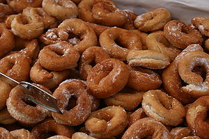 """Fried """"Rosquillas"""" from Asturias, Spain."""