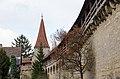 Rothenburg ob der Tauber, Stadtbefestigung, Kummereck, 004.jpg