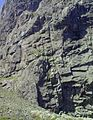 Route I (1931) on Carn Dearg NW (Ben Nevis, Highland Scotland) 3x4.JPG