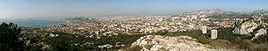 Panorama di Marsiglia