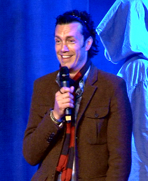Tolkien family - Royd Tolkien on 20 April 2014 at the Hobbitcon II convention in Bonn, Germany