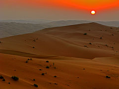 Rub al khalid sunset nov 07.JPG