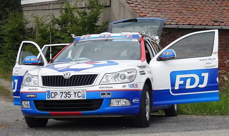 Rumillies (Tournai) - Tour de Wallonie, étape 1, 26 juillet 2014, ravitaillement (A12).JPG