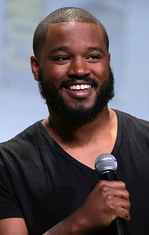 Ryan Coogler - Coogler at San Diego Comic Con in 2016
