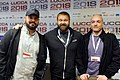 Ryan Ottley, Robert Kirkman and Cory Walker - Lucca Comics & Games 2018.jpg