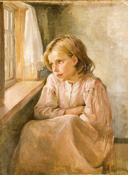 File:Rzsevskaya Antonina Girl at the window.jpg