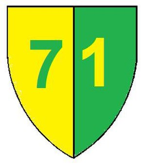 7 South African Infantry Division - SADF 71 Motorised Brigade emblem