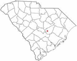 Location of Summerton, South Carolina