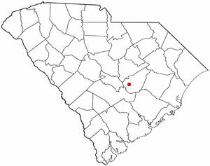 Summerton, South Carolina - Image: SC Map doton Summerton