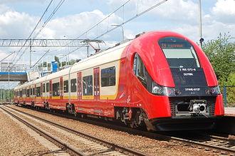 Szybka Kolej Miejska (Warsaw) - Train on S9 line