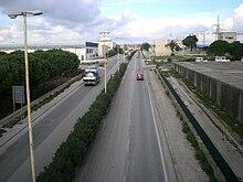 La SP 25 Ragusa Mare.