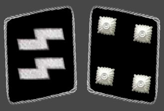 Sturmbannführer - Image: SS Sturmbannfuehrer,col lar