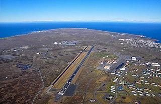 Keflavík International Airport international airport serving Reykjavík, Iceland