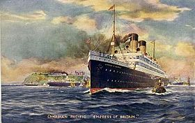 Image illustrative de l'article Empress of Britain (1906)