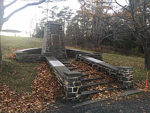 SS Point Pleasant Park - Image: SS Point Pleasant Park Monument, Point Pleasant Park, Halifax, Nova Scotia