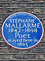 STÉPHANE MALLARMÉ 1842-1898 Poet stayed here in 1863.jpg