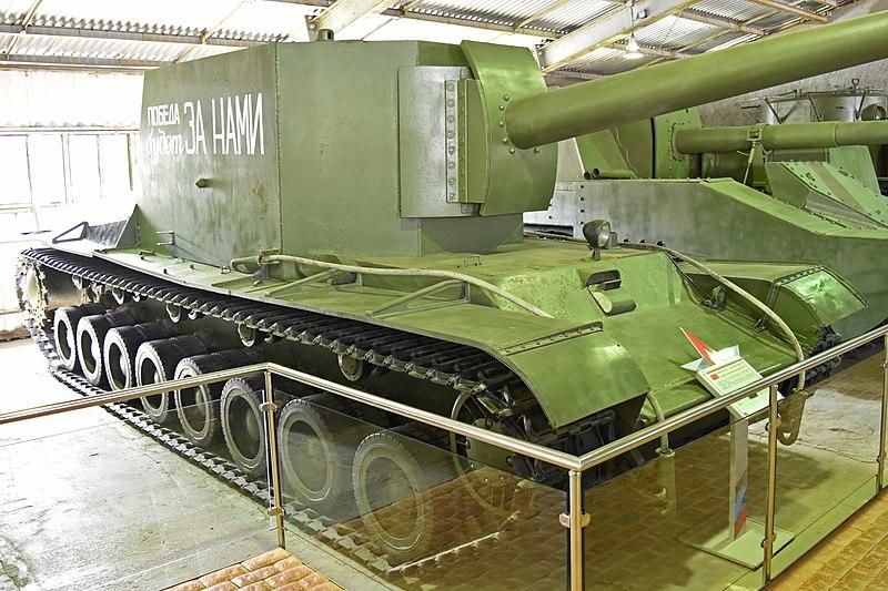 File:SU-100Y Prototype Self-propelled gun (36933520223).jpg