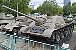 SU-85 - Central Armed Forces Museum, Moscow (27083770789).jpg