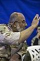 Saeed Ghasemi سخنرانی سعید قاسمی فرمانده سابق جنگ در قصر شیرین 04.jpg