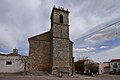 Saelices, iglesia San Pedro Apóstol, vista oeste.jpg