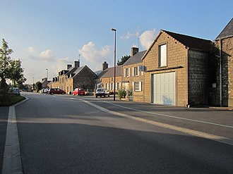 Saint-Joseph, Manche - The main street