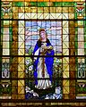 Saint Agnes Cathedral (Springfield, Missouri) - stained glass, St. Agnes.jpg