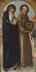 Saint Anthony Abbot and Saint Bernardino of Siena