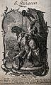 Saint Gereon. Engraving after F. Sigrist. Wellcome V0032161.jpg