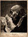 Saint Matthew. Mezzotint by R. Brookshaw after G.B. Piazzett Wellcome V0032630.jpg
