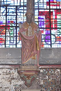 Lucian of Beauvais Christian martyr