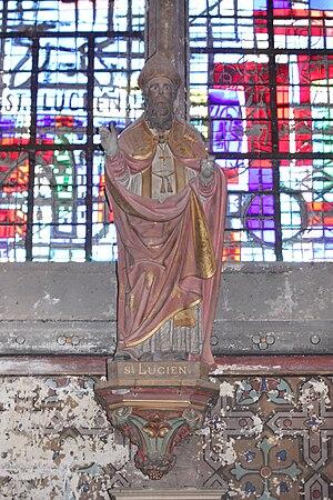 Français : statue de saint lucien
