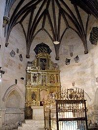 Salamanca - Catedral Vieja, Claustro, Capilla de Anaya 08.jpg
