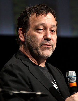 A Simple Plan (film) - From left to right: Scott B. Smith, who wrote the adaptation of his novel, and Sam Raimi, who directed the film.