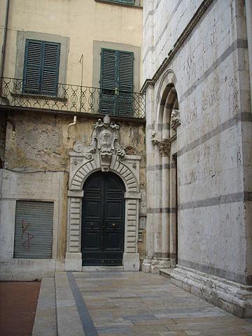 File san michele in borgo 14 porta cononica jpg wikipedia - San michele a porta pia ...
