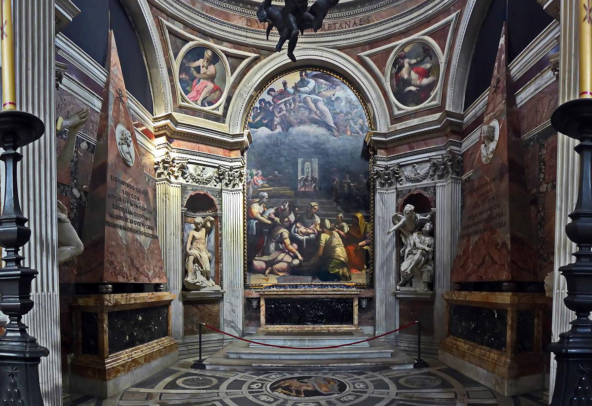 Chigi Chapel Wikipedia